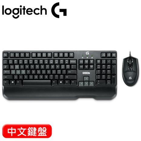 Logitech羅技 G100S 電競滑鼠鍵盤組(滑鼠:2500dpi/五段dpi切換)