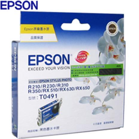 EPSON 原廠墨水匣T049150(黑)