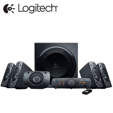 【1月精選-限時特惠】Logitech羅技 Z906 5.1聲道家庭劇院喇叭(總功率500瓦/遙控器)