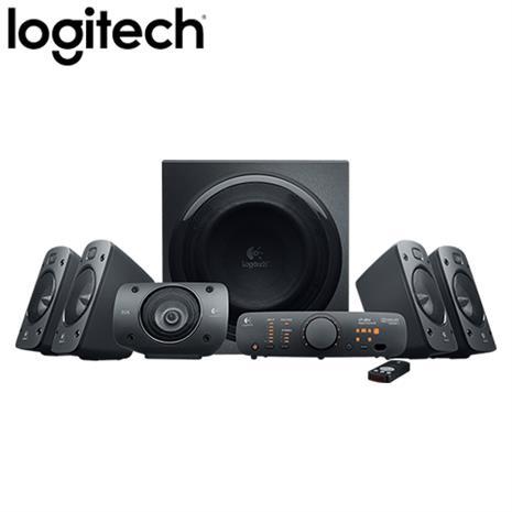Logitech羅技 Z906 5.1聲道家庭劇院喇叭(總功率500瓦/遙控器)-3C電腦週邊-myfone購物
