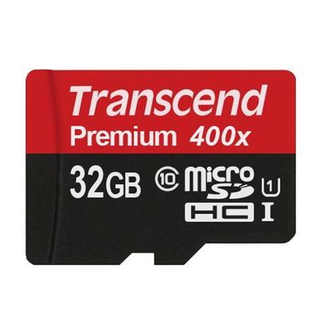 TRANSCEND 創見 MicroSDHC (T-Flash) 32G Class10 UHS-I + SD轉卡