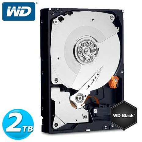 WD 黑標 3.5吋 2TB SATA3 內接硬碟 2003FZEX