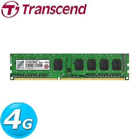 TRANSCEND 創見 JetRam 4G DDR3 1600 桌上型記憶體