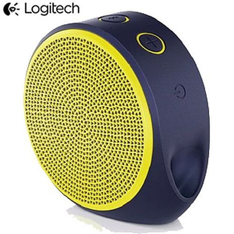 Logitech羅技 X100無線藍芽喇叭 亮黃色