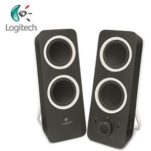 Logitech羅技 Z200 2.0聲道 多媒體揚聲器 黑色 (10瓦/2.0聲道/音調控制鈕)