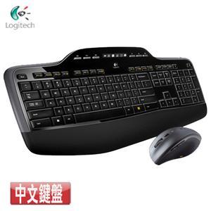 Logitech羅技 MK710 2.4G無線鍵盤滑鼠組(滑鼠:飛速滾輪/上下頁/Unifying)