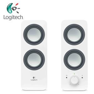 Logitech羅技 Z200 2.0聲道 多媒體揚聲器 白色