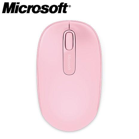 【2月精選-微軟登錄送好禮】Microsoft 微軟 1850 無線行動滑鼠-3C電腦週邊-myfone購物