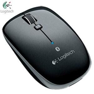 Logitech羅技 M557 Bluetooth Mouse 藍芽滑鼠 黑色(藍芽/光學技術/四向滾輪)