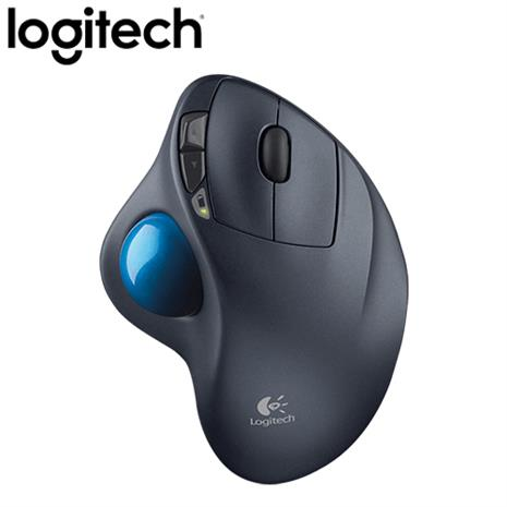 Logitech羅技 M570 2.4G無線軌跡球滑鼠(雷射技術/人體工學/Unifying)