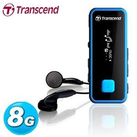 Transcend 創見 MP350 MP3 隨身聽 8GB 運動風音樂播放器