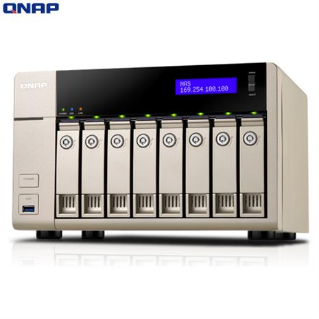 QNAP威聯通 TVS-863 8Bay網路儲存伺服器-3C電腦週邊-myfone購物