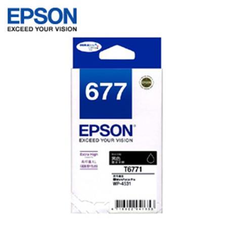 EPSON 原廠高容量墨水匣 T677150 黑色 (WP4531,WP4091)