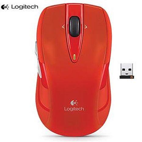 Logitech羅技 M545 無線滑鼠 紅