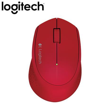 Logitech 羅技 M280 無線滑鼠 紅