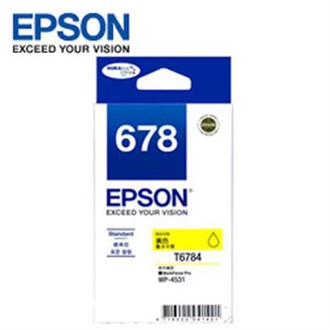 EPSON 原廠黃色墨水匣 T678450 (適用WP-4531,WP-4091)-數位筆電.列印.DIY-myfone購物