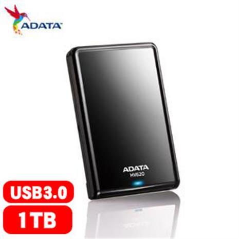 ADATA威剛 HV620 2.5吋 1T USB3.0 行動硬碟(黑)-3C電腦週邊-myfone購物