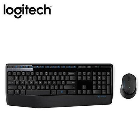 Logitech 羅技 MK345 無線滑鼠鍵盤組