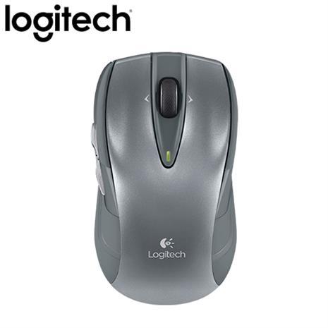 Logitech羅技 M545 無線滑鼠 銀
