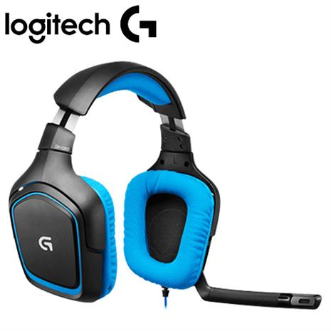 Logitech羅技 G430 環繞音效遊戲耳機麥克風