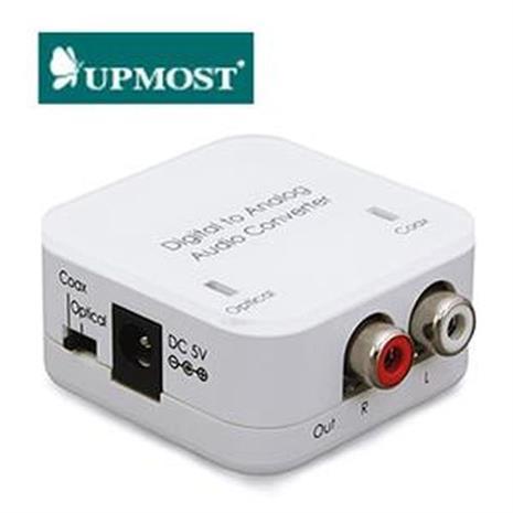UPMOST 登昌恆 DCT-3 Plus 數位光纖轉類比音源轉換器 進階版-家電.影音-myfone購物