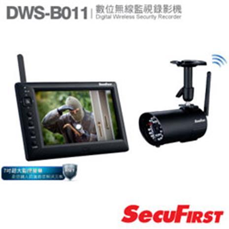 SecuFirst 天鉞電子 DWS-B011 含螢 數位無線家居影音監視器