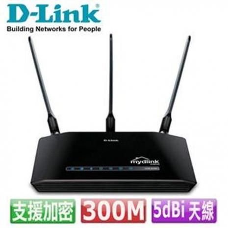 D-Link 友訊 DIR-619L 雲端300M 無線寬頻路由器