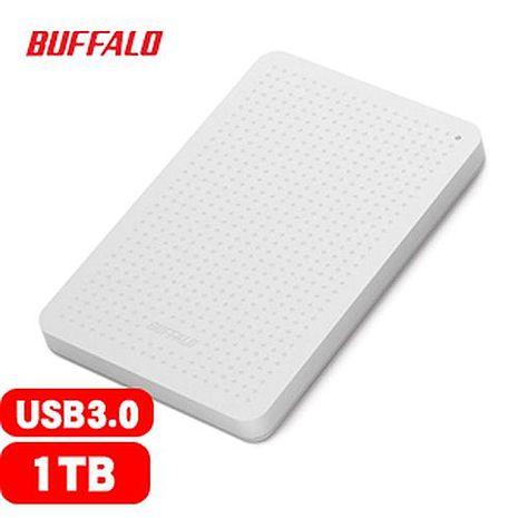 BUFFALO 巴比祿 2.5吋 1TB 外接硬碟 白 HD-PCF