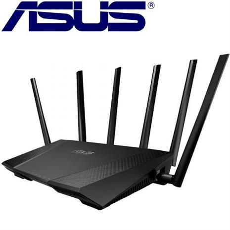 ASUS AC3200 雙頻 Wireless-AC3200 Giga無線分享器-3C電腦週邊-myfone購物