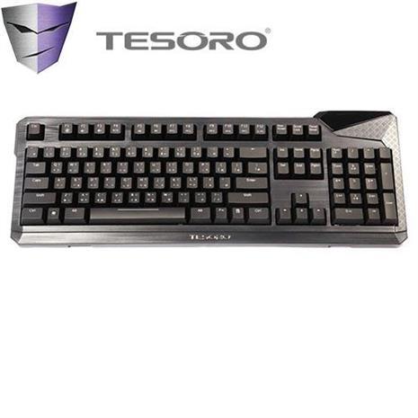 TESORO Durandal 杜蘭朵劍機械式鍵盤 青軸中文