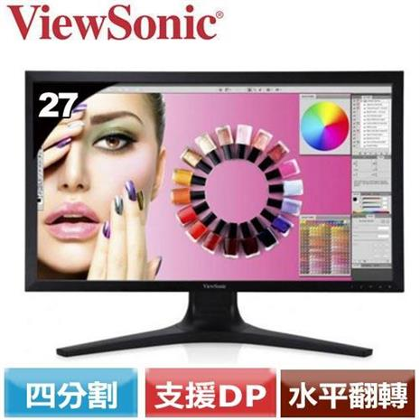 ViewSonic 27型IPS廣視角4K液晶螢幕  VP2780