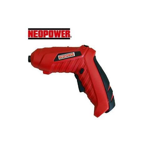 NEOPOWER 4.8V 可彎曲充電電動起子機(適合女性使用)