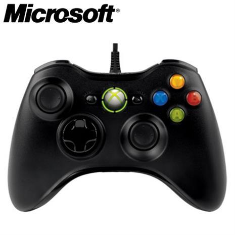 Microsoft微軟 有線搖桿控制器 黑色(Xbox/PC專用/力回饋功能)-3C電腦週邊-myfone購物