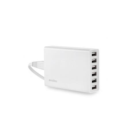 anidees 6Port USB充電器 (Smart IC)