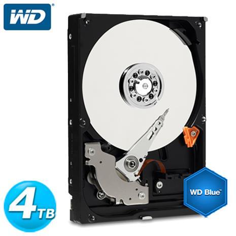 WD 藍標 3.5吋 4TB SATA3 內接硬碟(WD40EZRZ)