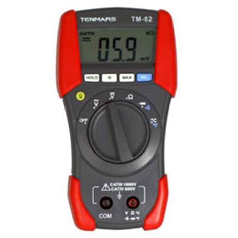 【專業需求款】TENMARS TM-82 專業三用電錶