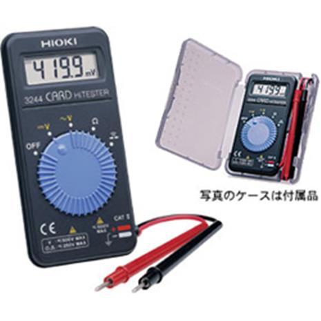 【輕薄易攜款】HIOKI 3244 日製名片型錶-居家日用.傢俱寢具-myfone購物