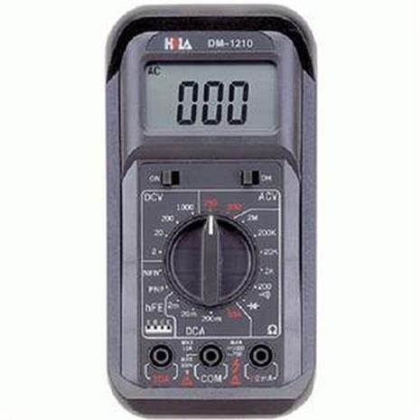 【基本維修初階款】HILA 經濟型數字三用電錶 DM-1210