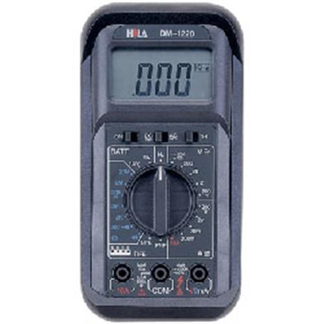 HILA DM-1220 數字經濟款三用電錶-居家日用.傢俱寢具-myfone購物