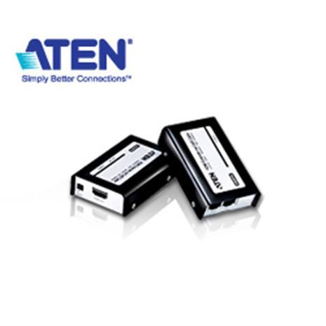 ATEN宏正 VE800 HDMI延長器  (1080P/60公尺/Cat 5e/1920x1200)-3C電腦週邊-myfone購物