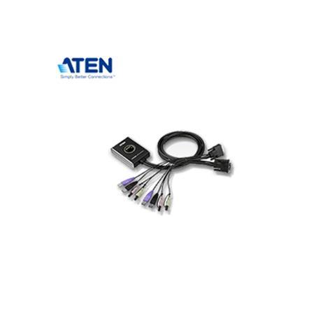 ATEN宏正 CS682 2埠KVM切換器 (DVI / USB / 喇叭/麥克風)