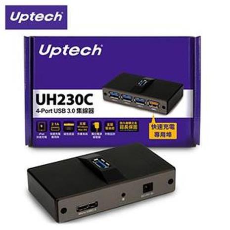 Uptech 登昌恆 UH230C 4-Port USB 3.0集線器