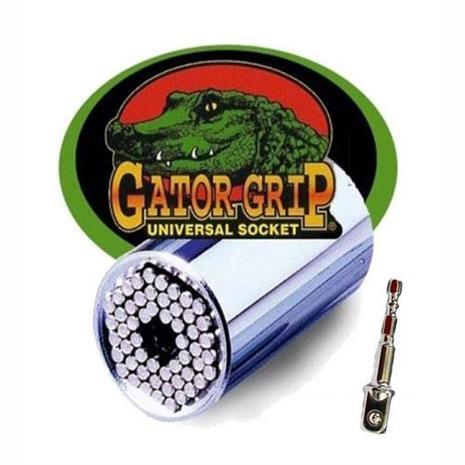 【客訂品】NEOPOWER 美國原裝專利GATOR GRIP萬用魔術工具套筒 贈接桿