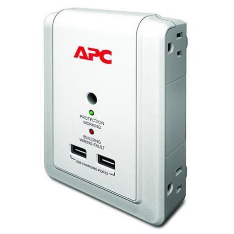 APC P4WUSB-TW 突波保護器-居家日用.傢俱寢具-myfone購物