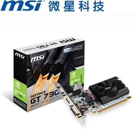 MSI微星 N730K-2GD5LP/OCV1 顯示卡