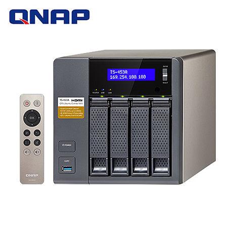 QNAP威聯通 TS-453A-8G 4Bay網路儲存伺服器