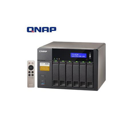 QNAP威聯通 TS-653A-8G 6Bay網路儲存伺服器