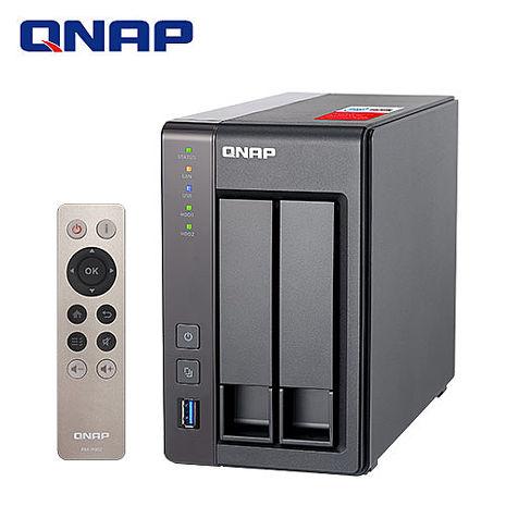QNAP威聯通 TS-251+ -2G 2Bay網路儲存伺服器