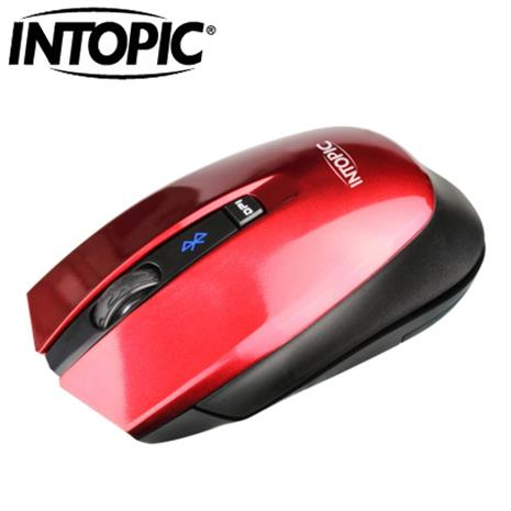 INTOPIC 廣鼎 MSW-BT650 藍牙無線光學滑鼠 紅