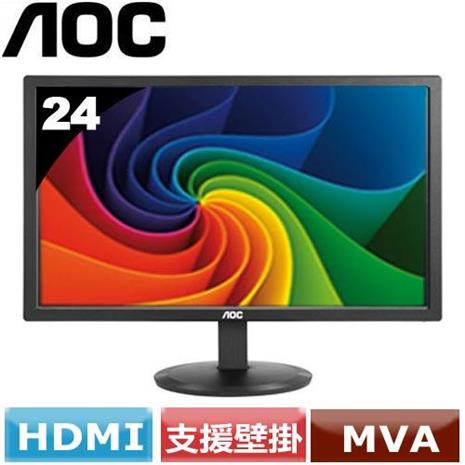 AOC 24型廣視角液晶螢幕 M2470SWH/96